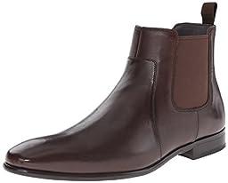 HUGO by Hugo Boss Men\'s C-Hubot Riding Boot, Dark Brown,11.5 M US