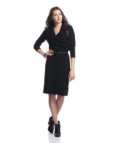 Cullen Women's Drape Front Cashmere Dress