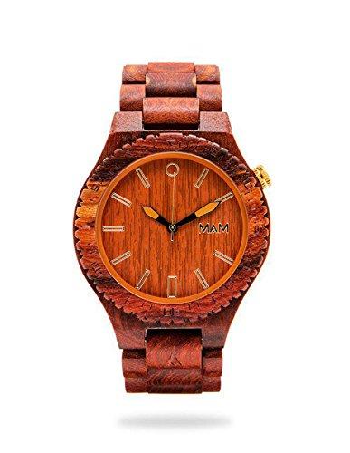 reloj-de-madera-raven-red-sandal