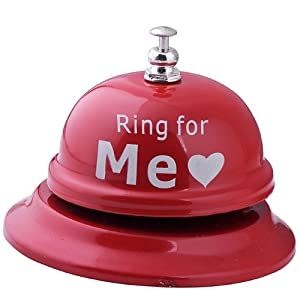 Red Adult Sex Toy Bell Ring For Sex Party Prop Husband Wife Lovers Gift Hot Funny