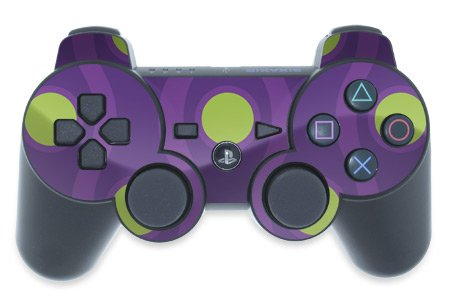Mygift Atomic Design Ps3 Playstation 3 Controller Protector Skin Decal Sticker