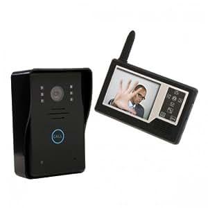 Video Intercom Doorbell Door Phone Intercom System: Home Improvement