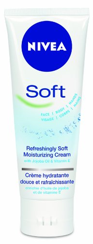 Nivea Soft Refreshingly Moisturizing Creme Unisex, 2.6 Ounce