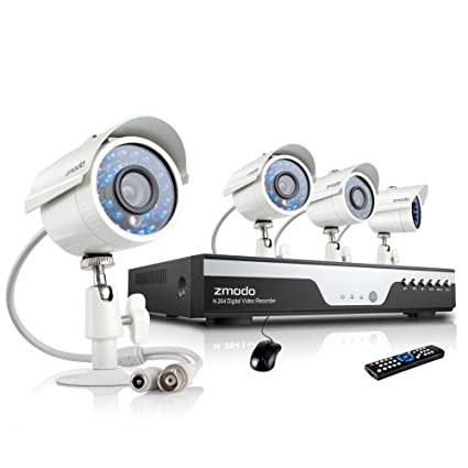 Zmodo KDC8-YARUZ4ZN DVR Security System