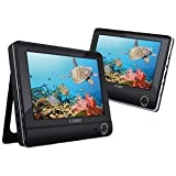 41wSZwTjdRL. SL160  NEW COBY TFDVD9952 9 DUAL SCREEN TABLET DVD SYSTEM