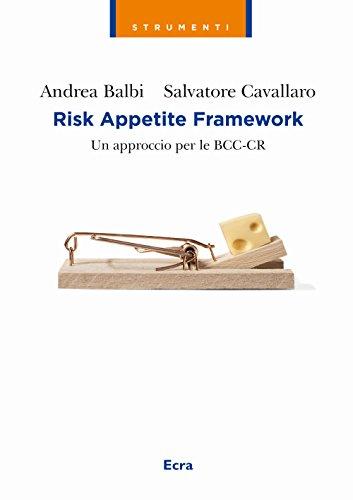 Risk appetite framework. Un approccio per le BCC-CR