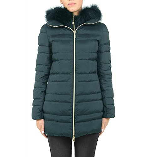 Geospirit Donna Trench Woman Jacket Osiris NY Fur GED0527 Col.368 -Tg 44