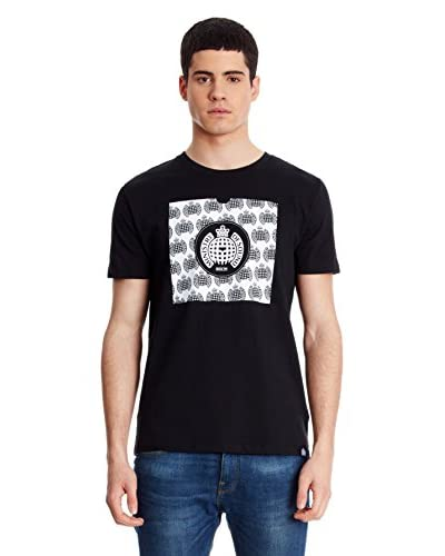 Ministry Of Sound T-Shirt Record Sleeve [Nero]