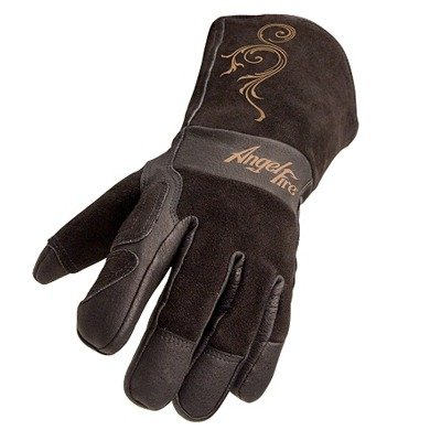 Revco AngelFire BSX LS50 Woman's Premium Grain Pigskin Welding Gloves, Small