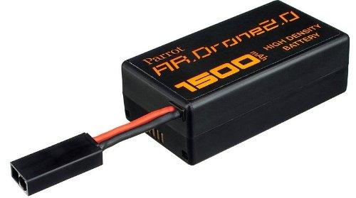 Parrot PF070056AA AR.DRONE 2.0 1500mAh LiPo Battery - Retail Packaging - black