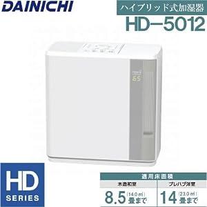 ダイニチハイブリッド式加湿器 HDシリーズ グレー HD-5012-H