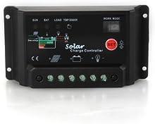 COLEMETER Controlador Regulador de Carga para Bater?ªa Panel Solar 30A 12V/24V
