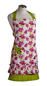 Spicy Aprons Spicy Blooms Floral Apron from Spicy Aprons Inc.