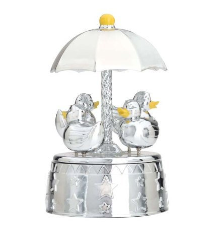 Reed & Barton Silver Plated Something Duckie Carousel