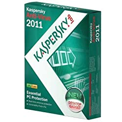 New Kaspersky 2011 Anti-Virus 3 Users 1 Year Excellent Performance Professional Popular Reliable from Kaspersky