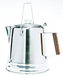 Texsport Stainless Steel 28 Cup Percolator made by Texsport