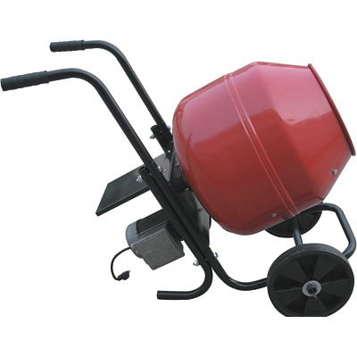 Northern Industrial Cement Mixer with Metal Drum - 2 Cubic Ft., Model# CM200