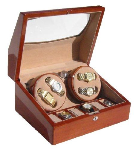 Watchwinderstore.com Landmark 4 Watches Automatic Watch Winder