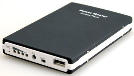 大容量だけどカバンにポン!9600mAhバッテリーチャージャー Power Master docomo au SB携帯電話、スマートフォンやゲーム機の予備バッテリーに!充分すぎるパワー。