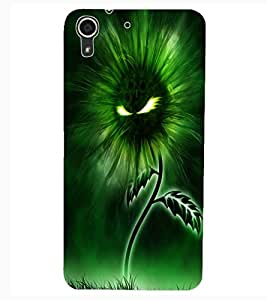 ColourCraft Flaming Eyes Flower Design Back Case Cover for HTC DESIRE 626S