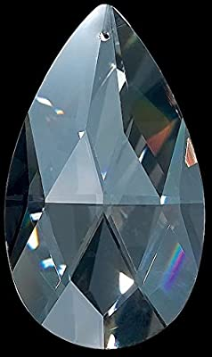 "Set of 25 3"" High Quality 30% Lead Tear Drop Crystals For Lamp & Chandeliers!"