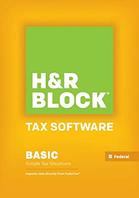 H&R Block Tax Software Basic 2013 Win [Download] [OLD VERSION]