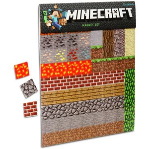 Minecraft Sheet Magnets from ThinkGeek