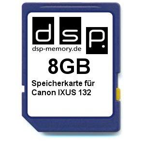 8GB Speicherkarte für Canon IXUS 132
