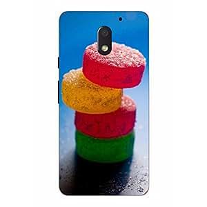 Joe Printed Soft Silicon Back Cover For Motorola Moto E3 POWER Mobile (Multicolor)