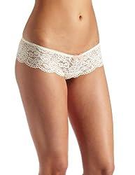 b.tempt'd by Wacoal Women's Ciao Bella Tanga Bikini Brief Panty, Vanilla, Small