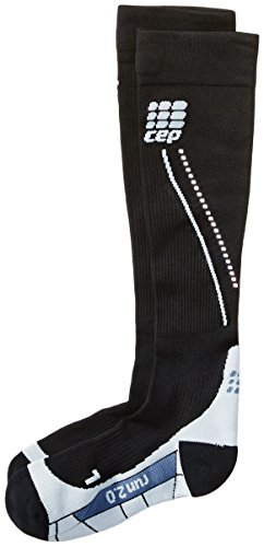 Cep Women'S Progressive+ 2.0 Night Run Socks, Size Iii (Calf 12.5-15-Inch), Night Black