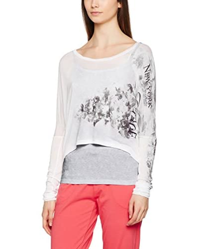 DEHA Camiseta Manga Larga Blanco