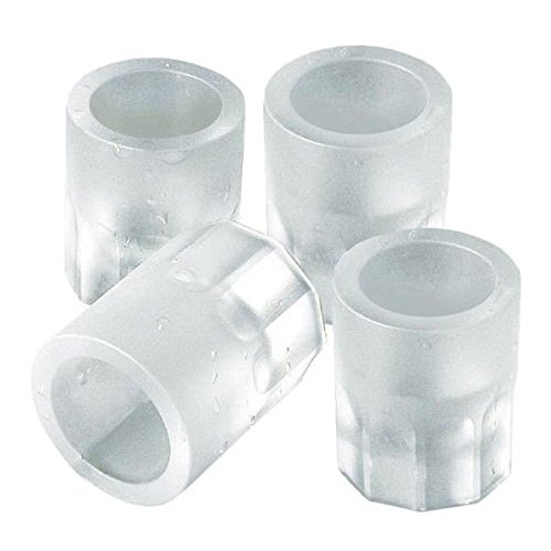 Shot Glass Ice Mold Cool 4 Cups Silicone Tray Great For Summer Party Home Kitchen Event (Root Maker Trays compare prices)