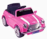 41wT97Lu2gL. SL160  National Products 6V Battery Operated Mini Cooper Ride on Pink