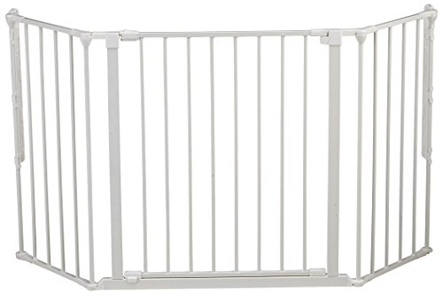 Baby Dan Flex Safety Gates, White, Medium