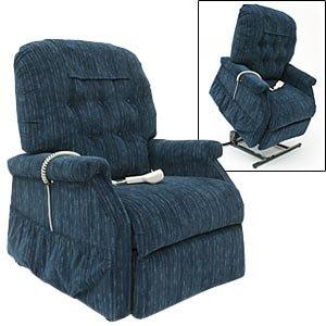 Easy Comfort Lift Chair Recliner Blue
