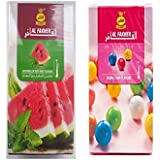 Crafts A To Z AL FAKHER Watermelon & Al Fakher Bubble Gum Flavour Imported Arabian Flavour For Hookah 50 Gm Pack...