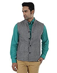 Indian Terrain Men's Jackets (8907190131984_Grey_X-Large)