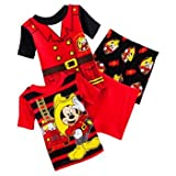 Disney Mickey Mouse Fire Fighter Pajama Set