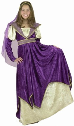 Kid's Renaissance Maiden Girl's Costume (Size: Medium 8-10)