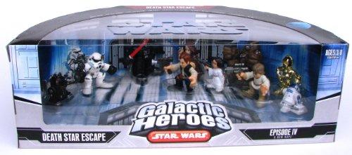 Hasbro 87509 Star Wars Galactic Heroes Death Star Escape 10 Mini-Figure Boxed Set - A New Hope