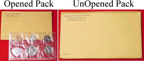 1963 Silver Proof Set with Silver Franklin Half Dollar-Original Unopened Set