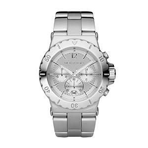 Michael Kors Herren-Armbanduhr XL Chronograph Quarz Edelstahl beschichtet MK5312