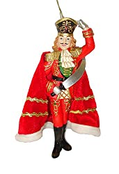 "7.75"" Nutcracker Suite Ballet Red Prince Christmas Ornament"