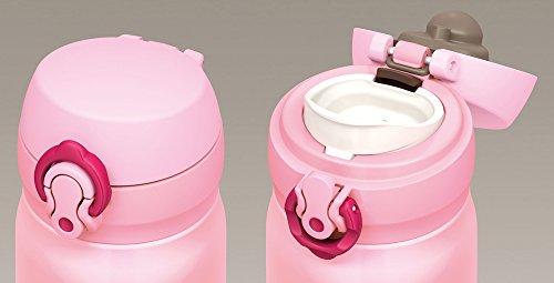 サーモス 水筒 真空断熱ケータイマグ 【ワンタッチオープンタイプ】 0.5L コーラルピンク JNL-502 CP