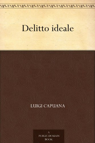 Delitto ideale PDF