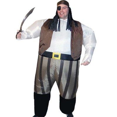 Aufblasbares Piraten kostüm Fatsuit Kostümparty Fasching Karneval
