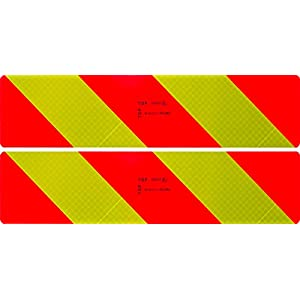 Cora 000103204 Set of 2 Certified Retro-Reflective Panels for Engines