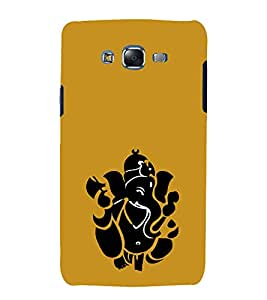 printtech Lord God Ganesha Abstract Back Case Cover for Samsung Galaxy J1 (2016) / Versions: J120F (Global); Galaxy Express 3 J120A (AT&T); J120H, J120M, J120M, J120T Also known as Samsung Galaxy J1 (2016) Duos with dual-SIM card slots