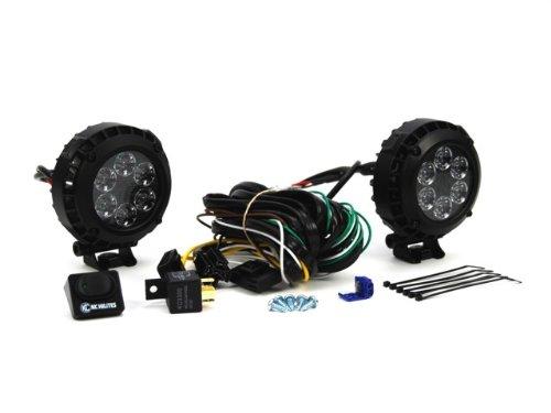 "Kc Hilites 300 4"" Round Lzr Led Black 24W Driving Light System"